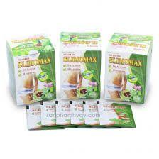 Trà Slimomax HV Quân Y trà giảm cân giảm béo hạ mỡ máu giá sỉ
