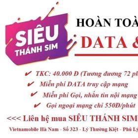 Siêu thánh Sim Vietnanobile giá sỉ
