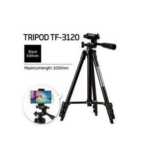 Chân máy chụp hình Tripod 3120 thân đen giá sỉ