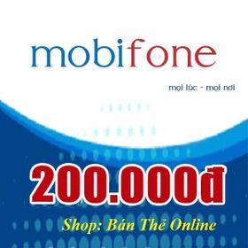 Thẻ Mobi 200k giá sỉ