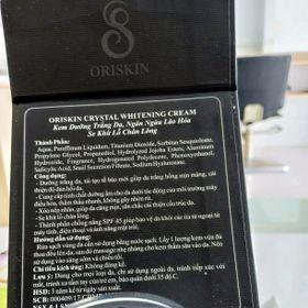 ORISKIN CRYSTAL WHITENING CREAM giá sỉ