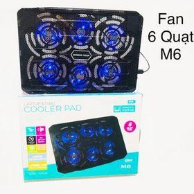 Đế tản nhiệt M6 - 6 Fan giá sỉ