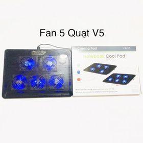 Đế tản nhiệt V5 - 5 Fan giá sỉ