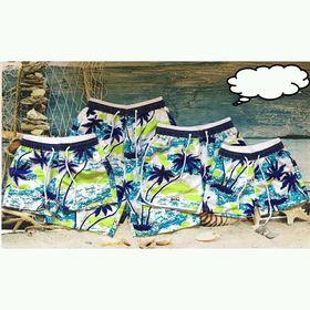 quần biển cây dừa giá sỉ