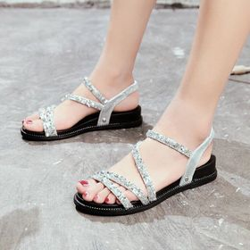 giày sandal kim tuyến giá sỉ