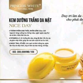 Kem dưỡng trắng da mặt NICE DAY – PRINCESS WHITE giá sỉ