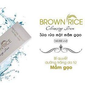 SỮA RỬA MẶT PRINCESS WHITE – BROWN RICE NEW 60ml giá sỉ