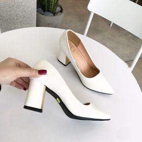 giày cao gót vuông công sở giá sỉ
