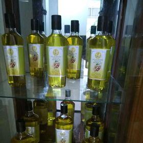dầu lạc nguyên chất HATIVINA chai 500ml và chai 1lít giá sỉ