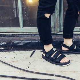 sandal 6212 trắng nam nữ giá sỉ