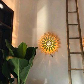 Đèn Gỗ Hoa Hướng Dương giá sỉ