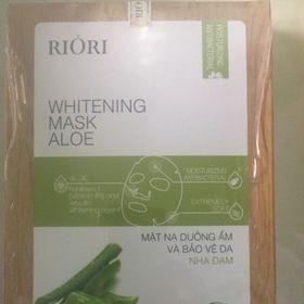 Mặt nạ dưỡng ẩm và bảo vệ da Nha Riori giá sỉ