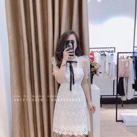Đầm Suông Ren Phối Lưới giá sỉ