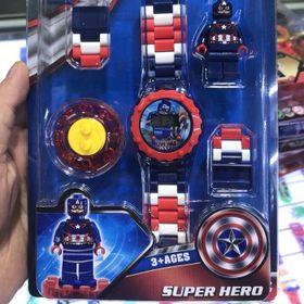 Đồng hồ siêu nhân lego giá sỉ
