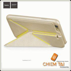 Bao da Hoco Slimfit Series Bracket Leather Case cho iPhone 6 giá sỉ