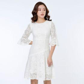 váy ren đính cúc ngọc trai giá sỉ