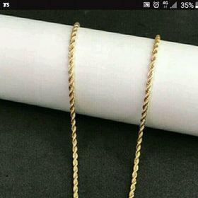 dây chuyền vàng xoắn giá sỉ