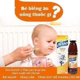 siro ăn ngon Scotts Thái Lan giá sỉ