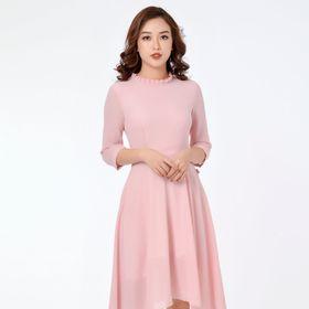 Váy hồng giá sỉ