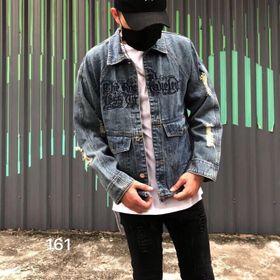 Áo jeans nam giá sỉ