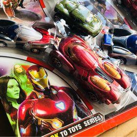 vỉ ô tô sắt Iron man loại đẹp giá sỉ