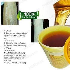 wax lông mật ong giá sỉ