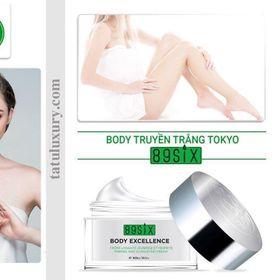 Body truyền trắng Tokyo Nhật Bản cho bạn làn da trắng tức thì và dài lâuko lộ vân kemko bết ríthiệu quả sau 2 tuần sử dụng giá sỉ