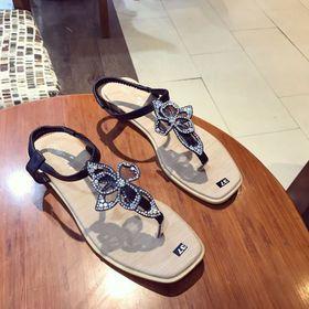 giày sandal hoa xinhh giá sỉ