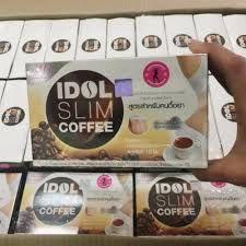 Cà phê giảm cân IDOL SLIM COFFEE thái lan hộp 10 gói giá sỉ