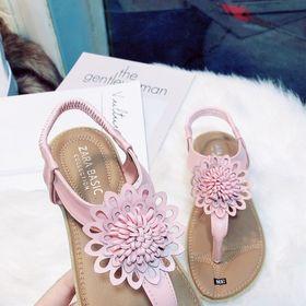 giày sandal kẹp hoa giá sỉ