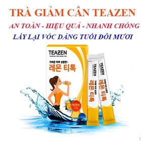 Trà giảm cân Hàn Quốc teazen Lemon Detox 레몬티톡 giá sỉ