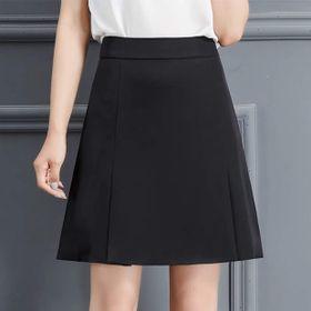 Chân váy công sở chữ A xếp 2 li thời trang giá sỉ