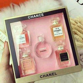 Set 5 chai nước hoa mini giá sỉ