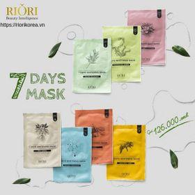 Mặt Nạ Giấy 7 Days Mask Riori giá sỉ