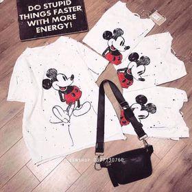 phông Mickey giá sỉ