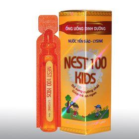 Yến Sào Lysine - Nest100 Kids – Dạng ống uống sản phẩm bán chạy nhất giá sỉ