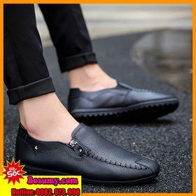 Giày mọi da nam trẻ trung MS-BB633 giá sỉ