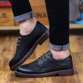 Giày da nam mũi tròn trẻ trung MS-BB4001 giá sỉ