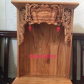 tủ thờ ông địa thần tài gỗ giá sỉ