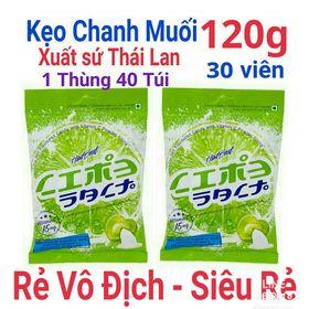 Sỉ 1 thùng kẹo chanh muối thái lan 40 bịch / thùng giá sỉ