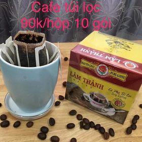 Cà phê nguyên chất túi lọc tiện lợi giá sỉ