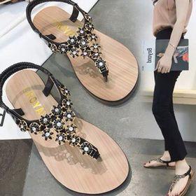 Giày sandal hoa siêu cute giá sỉ