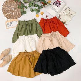 Quần váy về thêm sll nè Chất cotton đũi dày đẹp giá sỉ