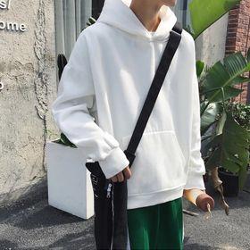 áo nam trơn màu trắng hodie nỉ bông loại nhất giá sỉ giá sỉ