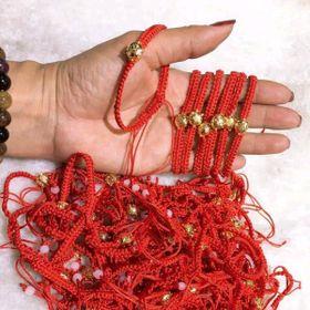 vòng tay chỉ đỏ dạng tết mix lợn phủ vàng 24k giá sỉ