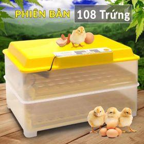 Máy Ấp Trứng Ánh Dương- bản 108 trứng- Lắp giáp Sẵn- Tự Động Hoàn Toàn giá sỉ