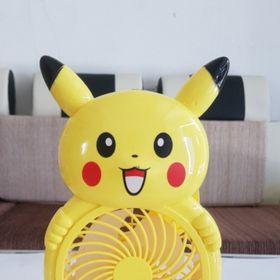 Quạt Sạc Pokemon USB Pin Rời giá sỉ
