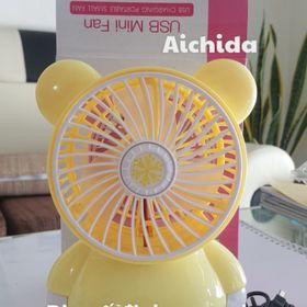 Quạt sạc USB mini Fan Kitty SQ1981 Hồng giá sỉ