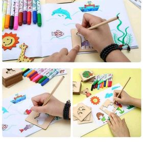 Bộ khung tập vẽ và tô màu cho bé giá sỉ
