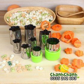 Bộ dụng cụ tỉa hoa cà rốt 8 mónv- bộ dụng cụ tỉa rau củ quả - bộ tỉa cà rốt giá sỉ